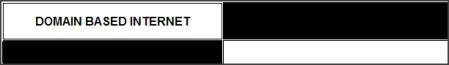 DOMAIN BASED INTERNET - logo - banner - 2010 - 2011 - 2012 - BRAND service trademark